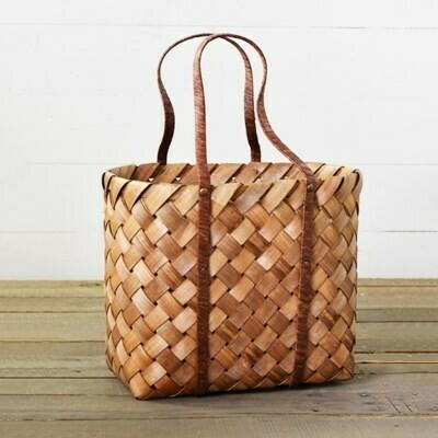 Wood chip bag