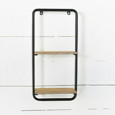Modern two shelf unit