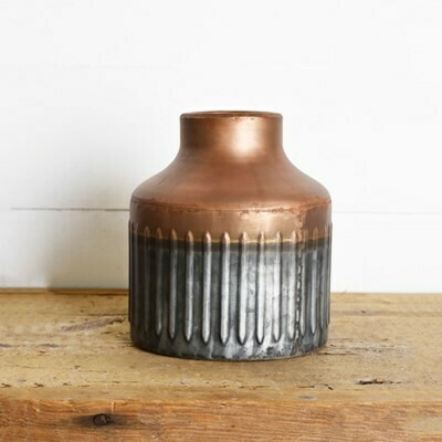 Tin Copper Vase