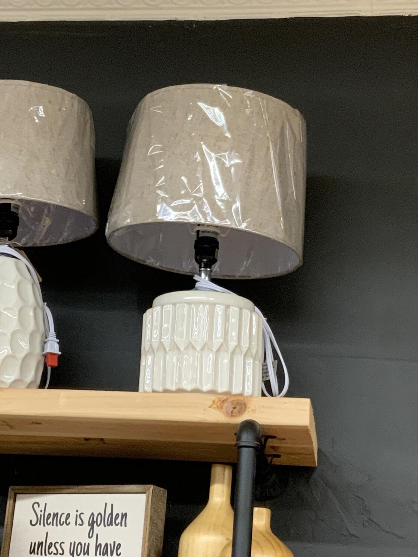 Squat geo lamp