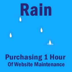 Rain Maintenance (1 Hour) 1-hr