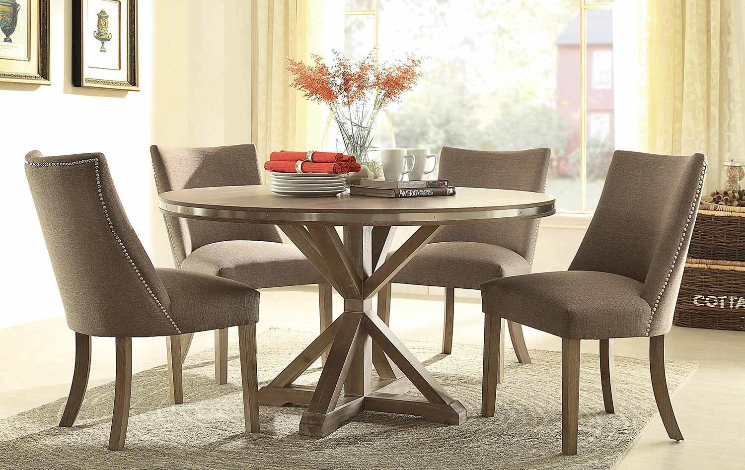 Beaugrand Formal Dining Collection Dinette Caster Chairs