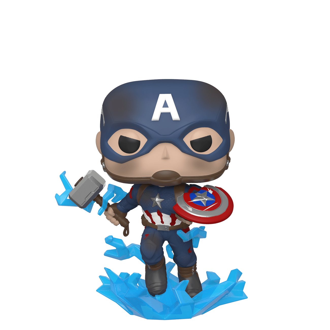 Captain America With Mjolnir Pop Figure