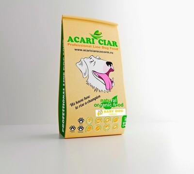 Беби дог стартер мини гранула корм для собак 25 кг