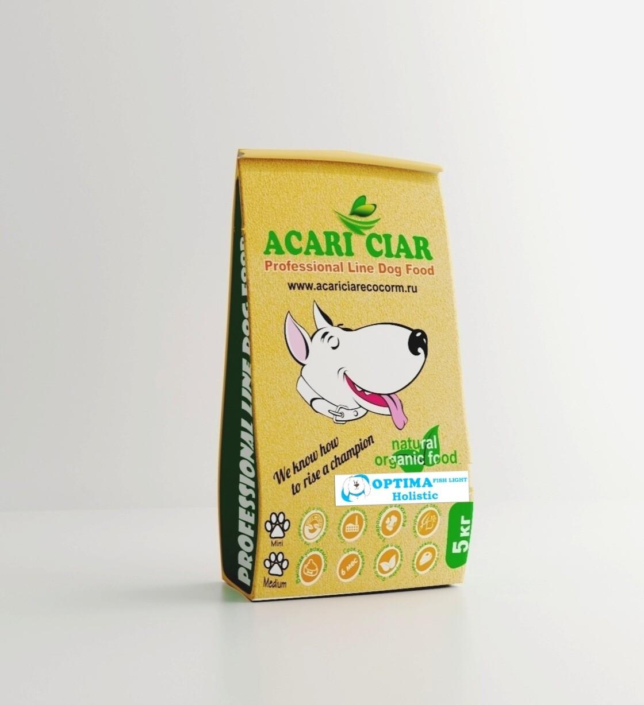 Оптима Фиш мини   гранула корм для собак 5 кг
