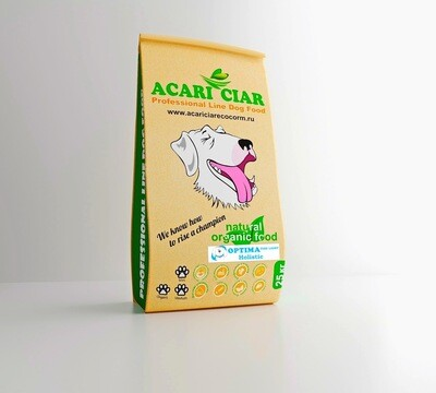 Оптима Фиш мини  гранула корм для собак 25 кг