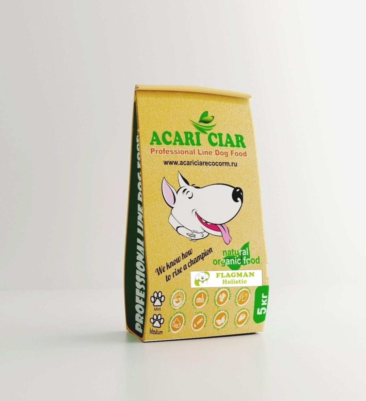 Флагман холистик медиум гранула корм для собак 5 кг