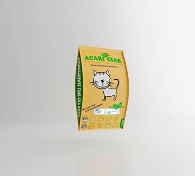 Фиш мини гранулы 0,5 кг корм для кошек