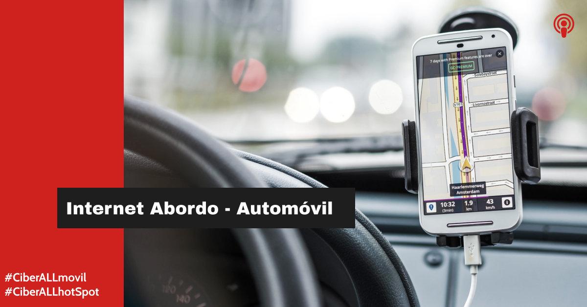 INTERNET HOTSPOT - EN MOVIMIENTO - RED 4G - AUTOMOVILES