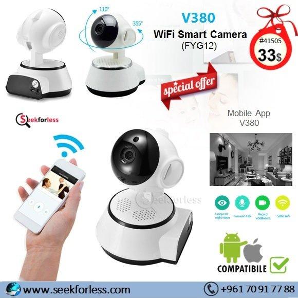V380 Wifi Smart Camera