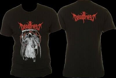 T-Shirt mit Deadpriest Aufdruck