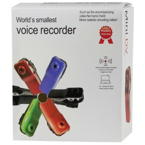 Spy Thumbsize DVR with voice activation (8GB)