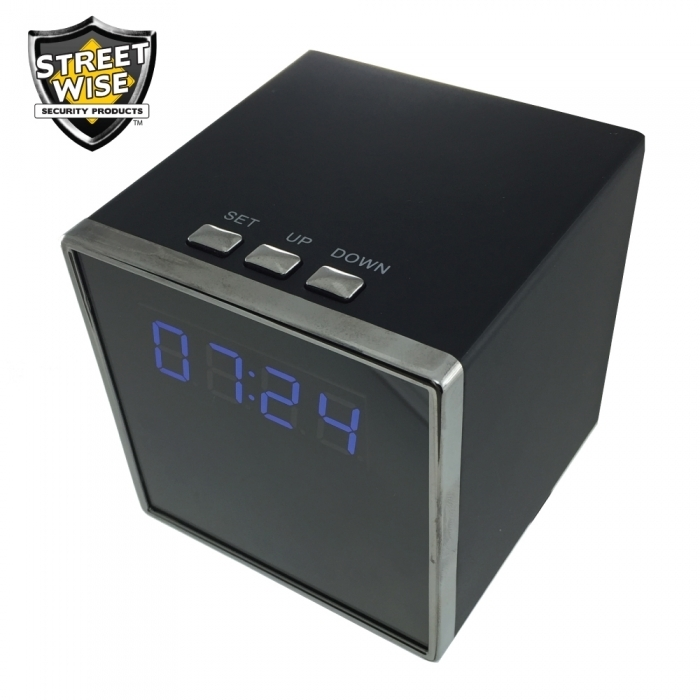 Cube Clock DVR Camera BCSWCCDVRCEP