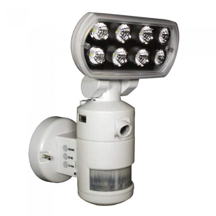 Nightwatcher Robotic Security LED Motion Lightning Camera BCVSLNWP702CEP