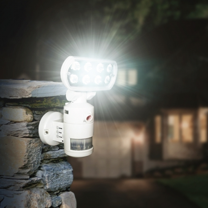 Nightwatcher Robotic Security LED Motion Lightning Camera