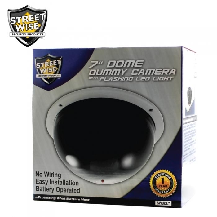 "Large Dome Dummy Camera 7"""