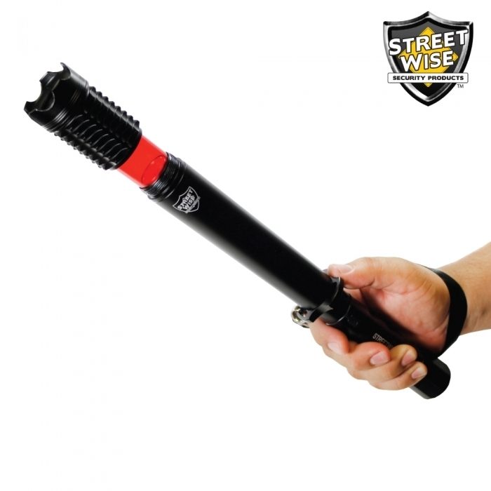 Cree LED Baton Flashlight w/ Signal Light