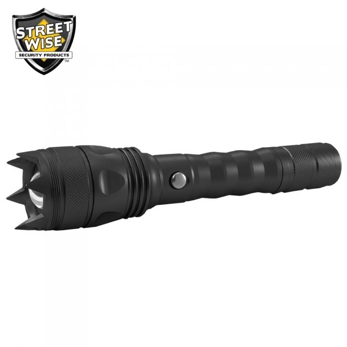 Cree LED Flashlight w/ Self Defense Spikes