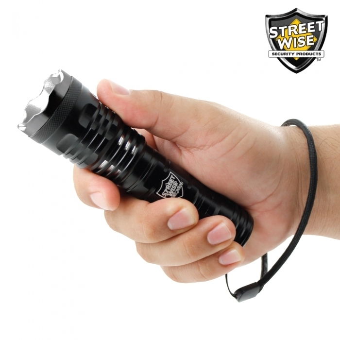 Tactical Cree Flashlight w/ Slide Zoom