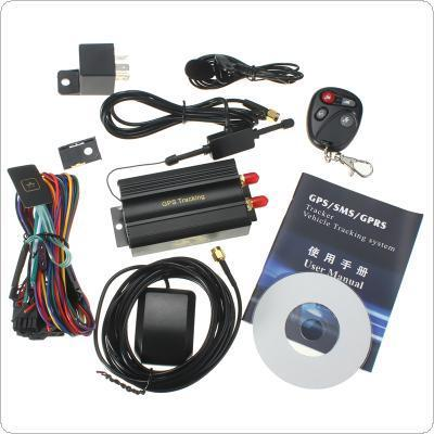 Car GPS Tracker GSM/GPRS Tracking Device Remote Control Auto Vehicle BC EPC_GPS_605
