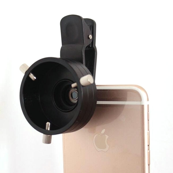 Telescope Adapter Cellphone Lens Monocular Binoculars Mount with Clip Dia 43.5mm Size S BC86013024TM