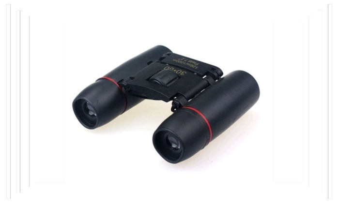 Day Night Vision Binoculars 30 x 60 Zoom Travel Folding Telesccope Bag