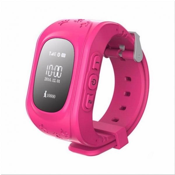 Q50 English Edition Children Kids GPS Tracker Watch with SOS Button Pink BC86016223 TM