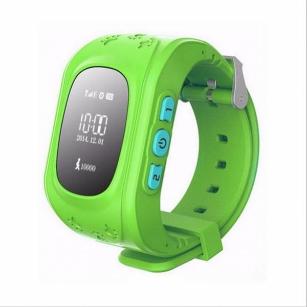 Q50 English Edition Children Kids GPS Tracker Watch with SOS Button Green BC86016224TM