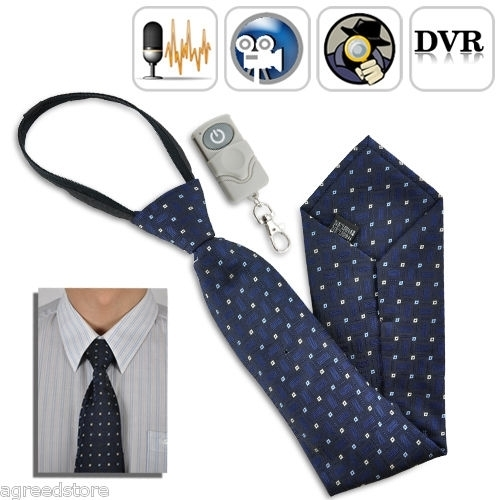 4GB Fashionable Tie with Hidden Camera Video Recording with Remote Control 30fps BC520044CSC