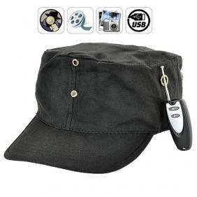 4GB Wireless Spy Hat Mini Hidden Cam With Remote Contral Protable Recorder BC520112CSC