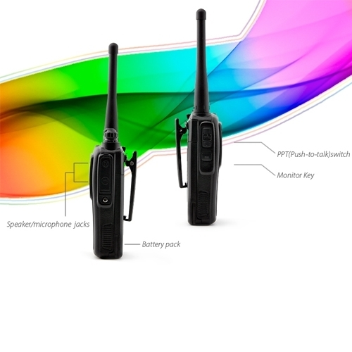 Super Sneak Walkie-talkie Hidden In-Ear Audio Receiver Kit