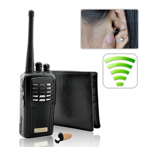 Super Sneak Walkie-talkie Hidden In-Ear Audio Receiver Kit BC540079CSC