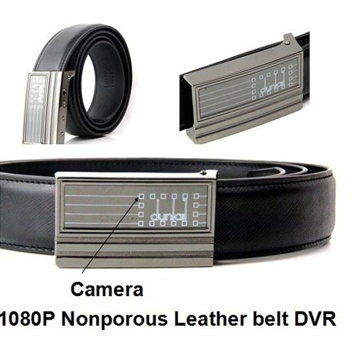 8GB Belt Hidden Camera With Three Shooting Full HD 1920 X 1080