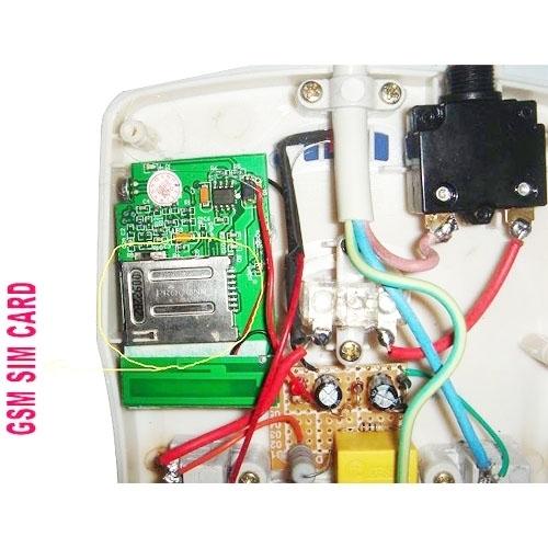 Plastic Quad-band Socket Bug GSM SIM Card Spy Audio