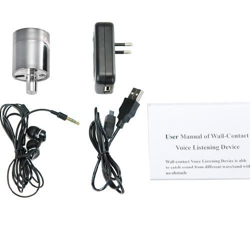 Spy Audio Gadget Inspector Gadget Sensitive Audio Listening Wall Bug