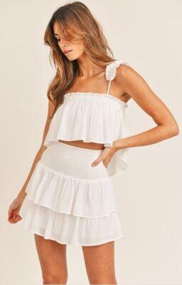 White Smock Skirt