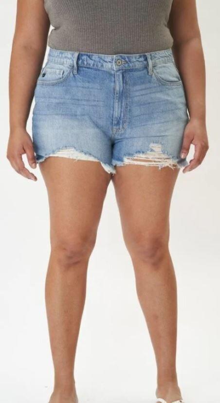 KanCan Plus HR Mom Shorts