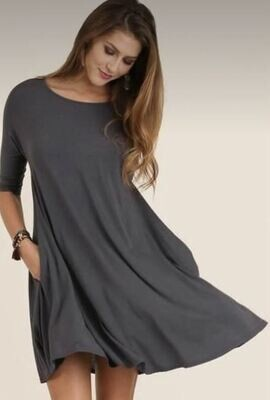 Ash Dusty Mint Pocket Dress