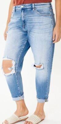 KANCAN light plus high mom jeans