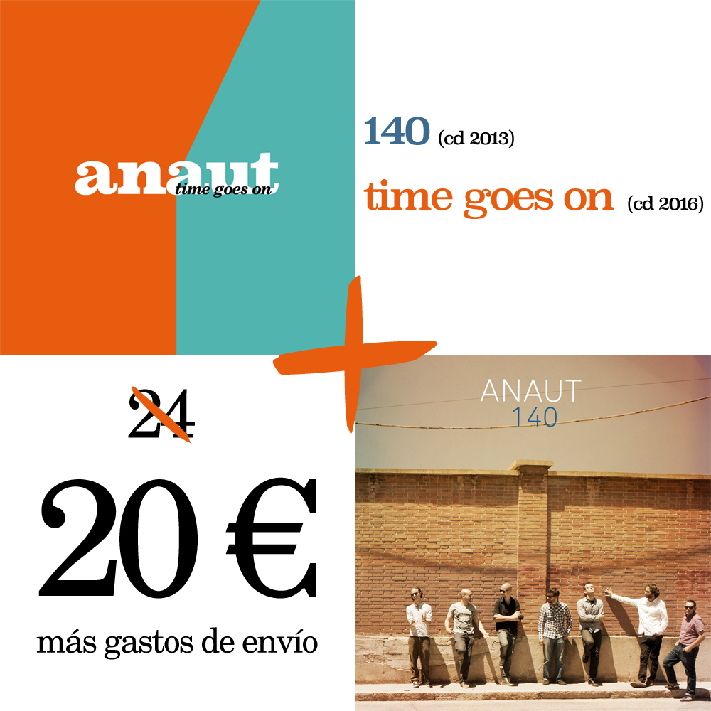 "Pack oferta: CD ""140"" + CD ""time goes on"" 00000"