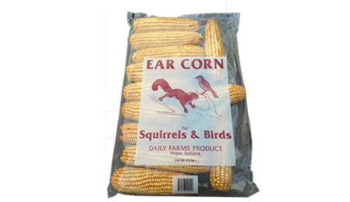 6.5 lb bag of ear corn 6.5lbec