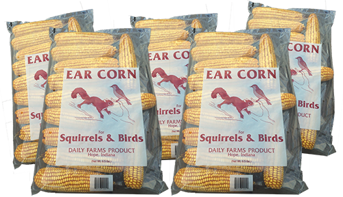 33 lb case of ear corn – (5 -6.5 lb bags) 33lbec