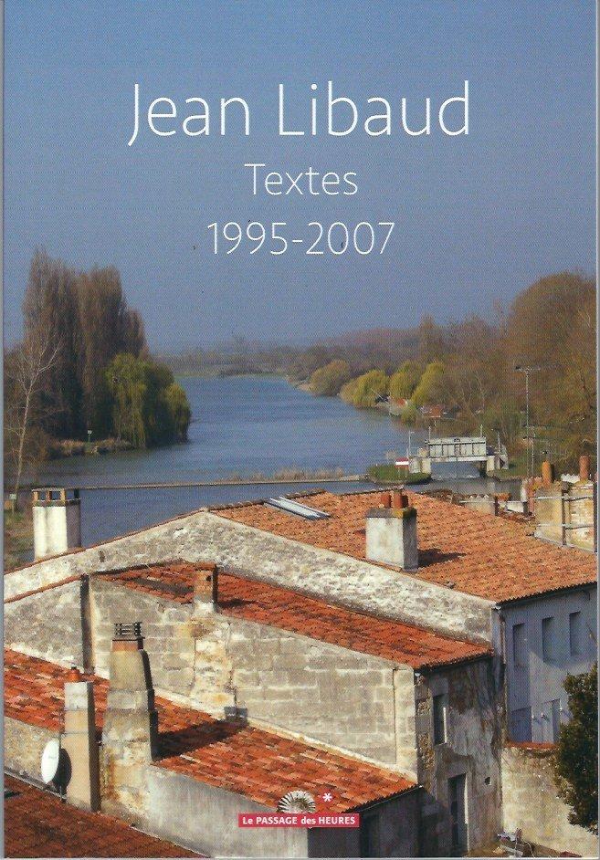 Jean Libaud, Textes 1995-2007 0096