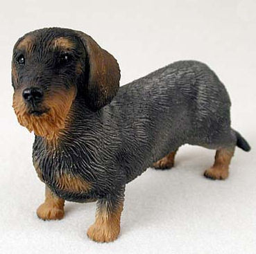 Dachshund Wirehaired Dog Standard Figurine