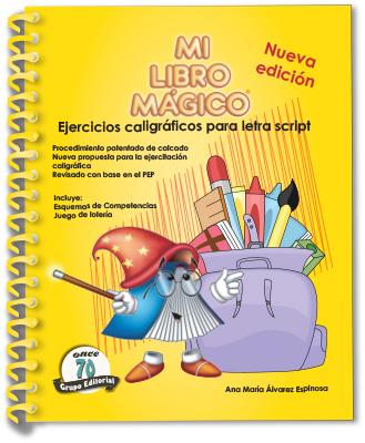 MI LIBRO MÁGICO. EJERCICIOS PARA LETRA SCRIPT MLM-003