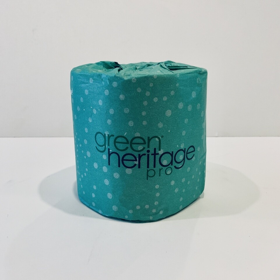 100% Recycled Toilet Paper - 500 sheet 2-Ply