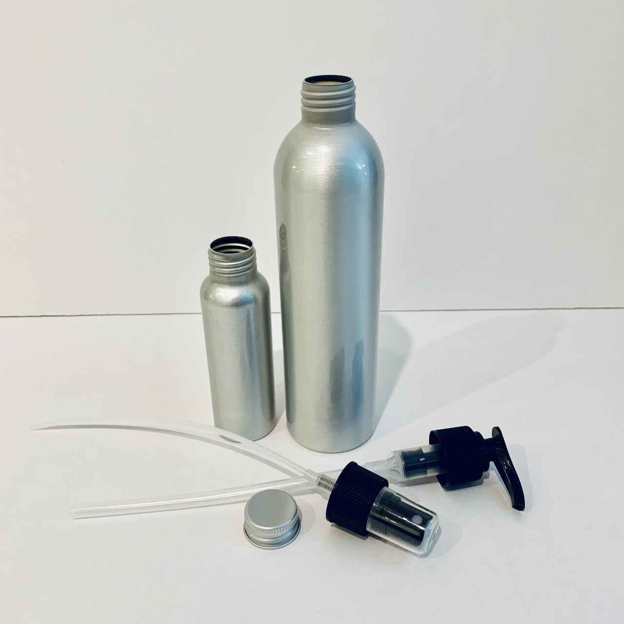Aluminum Bottles and Lids