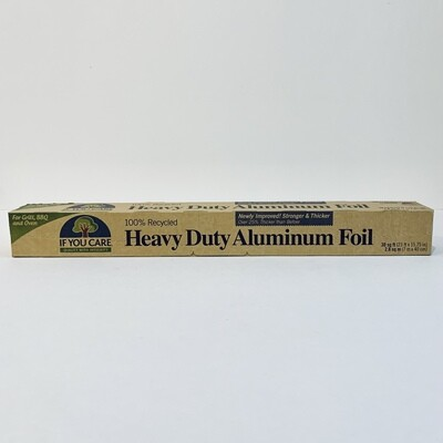 Aluminum Foil, Heavy Duty, 100% Recycled