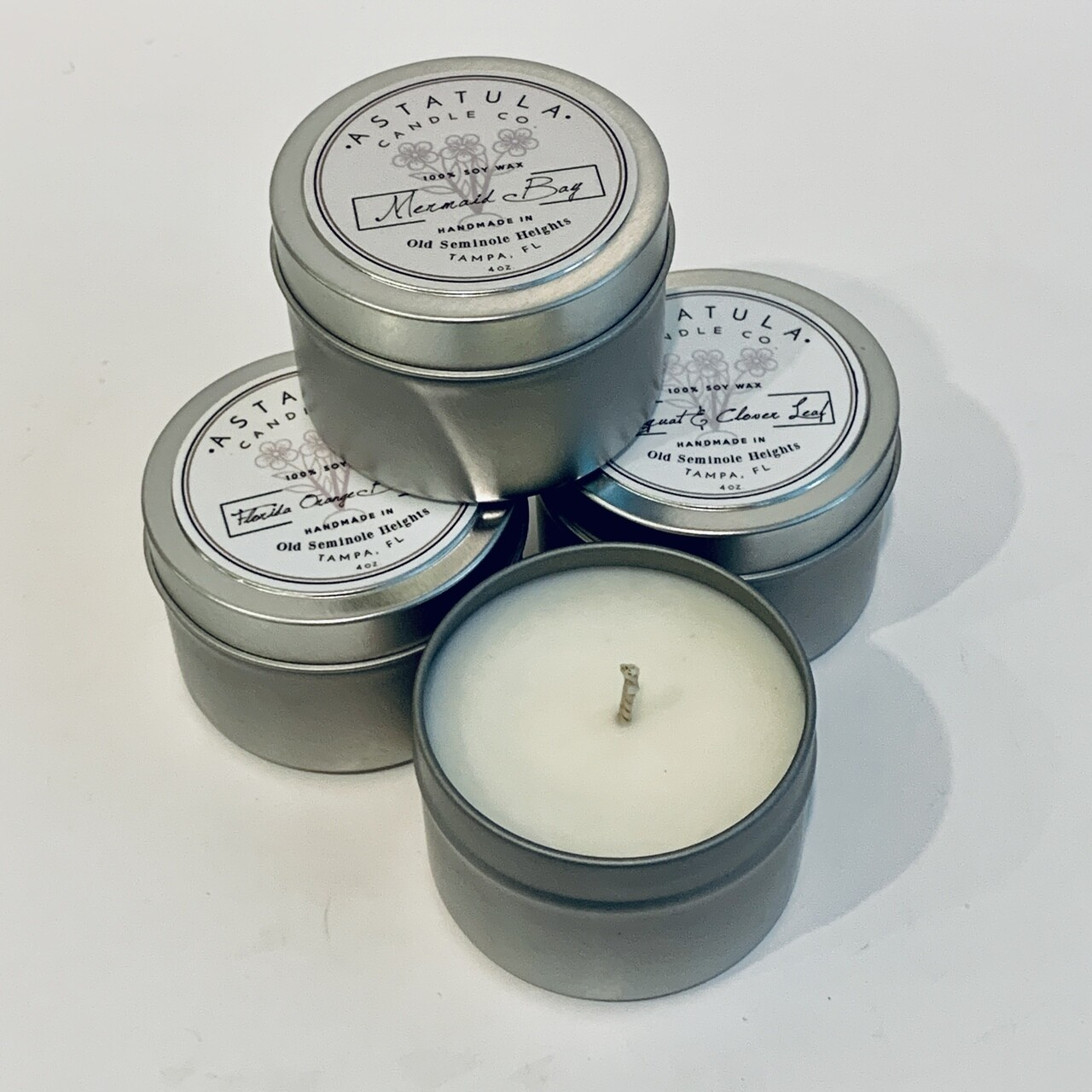 Soy Wax Scented Candle, 4oz - Astatula Candle Co