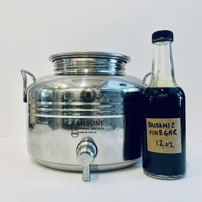 Balsamic Vinegar, Traditional Barrel Aged